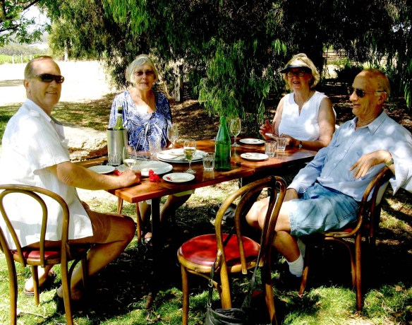 Having fun with friends helps to prevent elder abuse