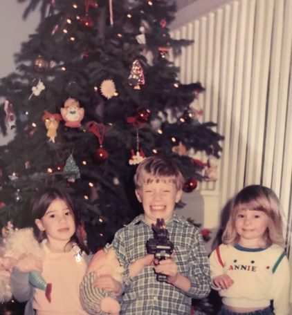 Christmas as kids