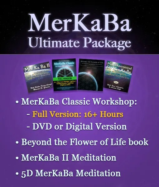 MerKaBa Ultimate Package Flower of Life Sacred Geometry by Maureen St. Germain