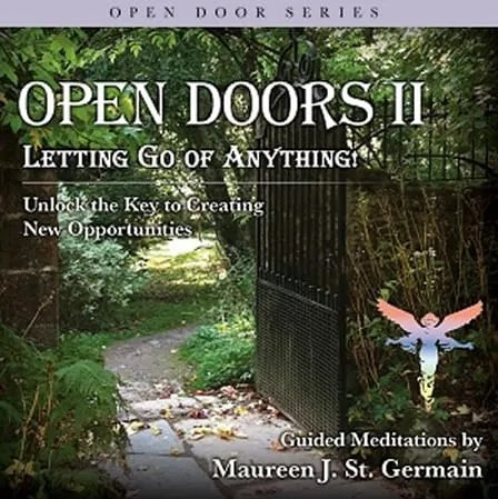 Open Doors text with forrest background