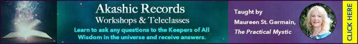 teal banner akashic records workshops
