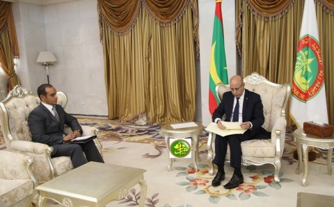 """الغزواني يتلقى دعوة رسمية لزيارة مصر"""""""