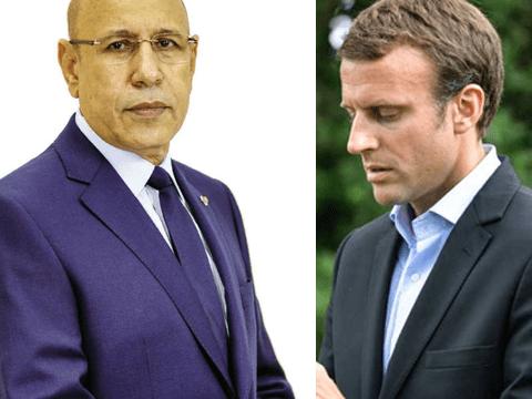 Ghazouani Macron