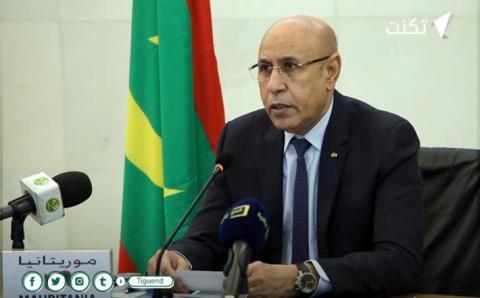 رئيس الجمهورية: الوضع في موريتانيا تحت السيطرة