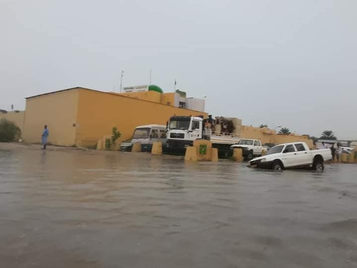 صور نواكشوط بعد الامطار