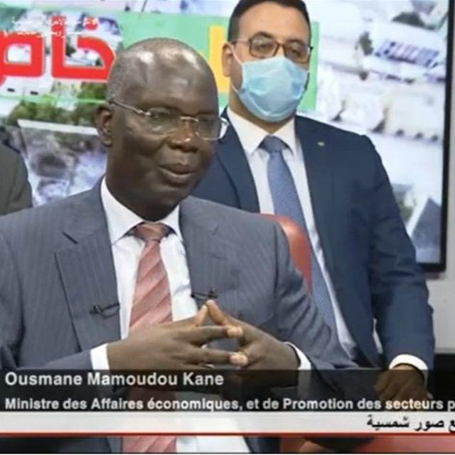 وزير الاقتصاد عثمان مامدووزير مقنغ