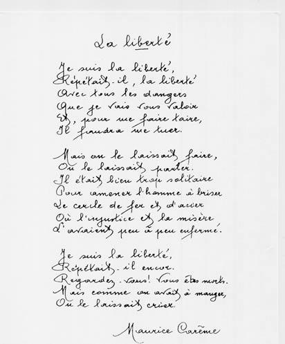 Je Suis Content Maurice Careme : content, maurice, careme, Maurice, Carême, Poèmes