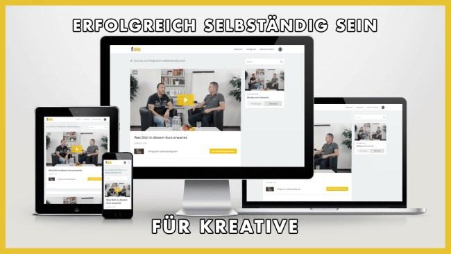 Erfolgreich selbständig sein für Kreative - Dirk Kreuter