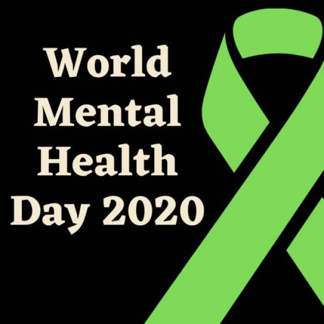 World Mental Health Day 2020 observed with green ribbon