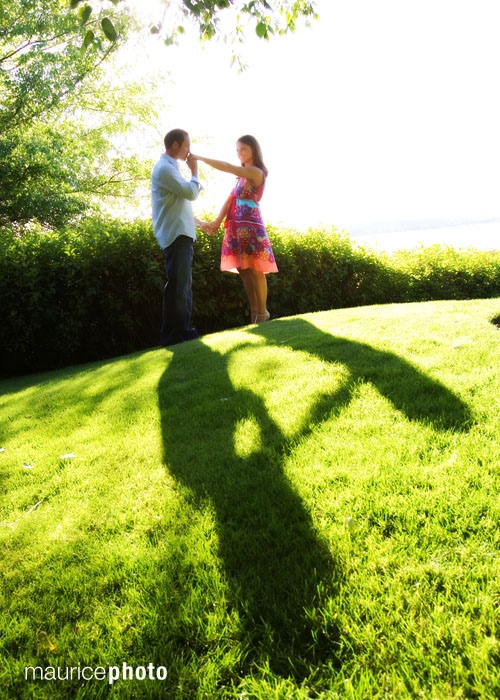 Engagement Pictures at Carillon Point