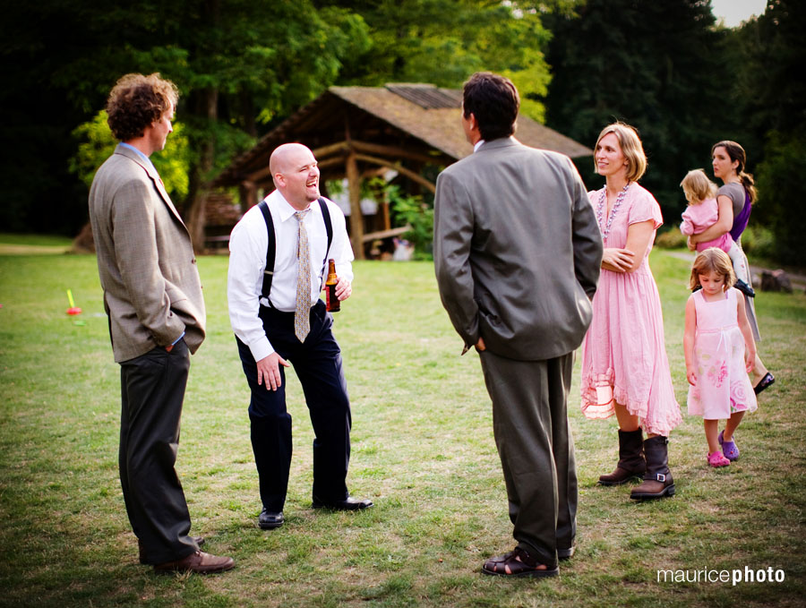 Wedding Pictures at the Whidbey Institute