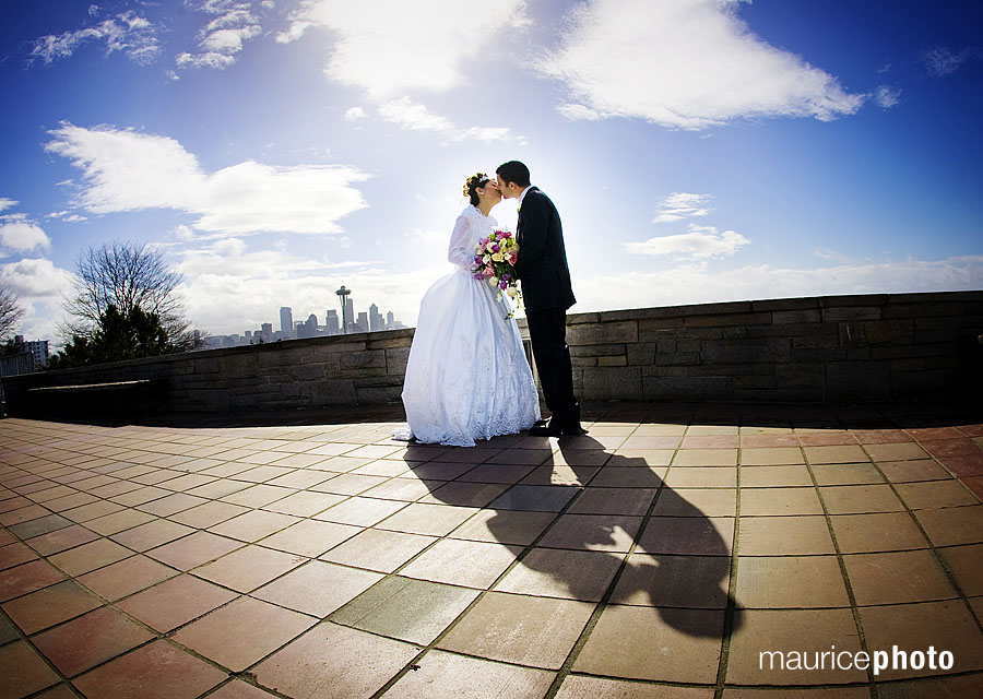Wedding Pictures at Kerry Park by Maurice Photo