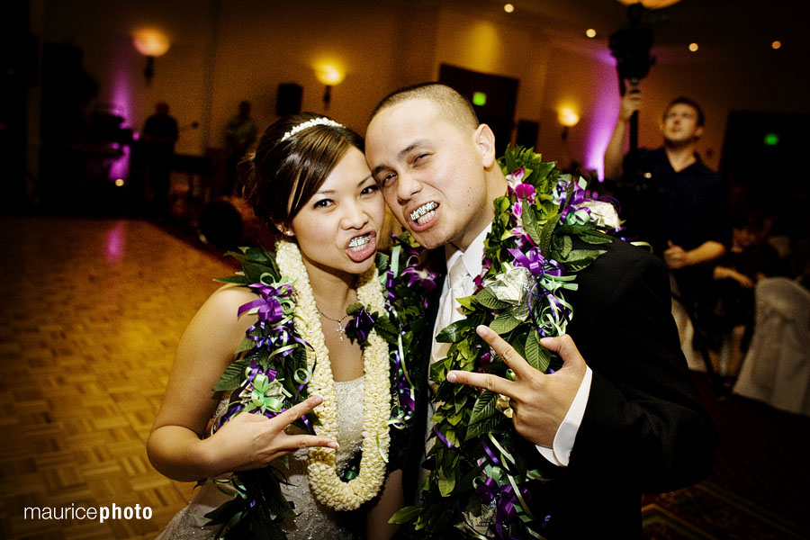Wedding photography at the Redmond Marriott