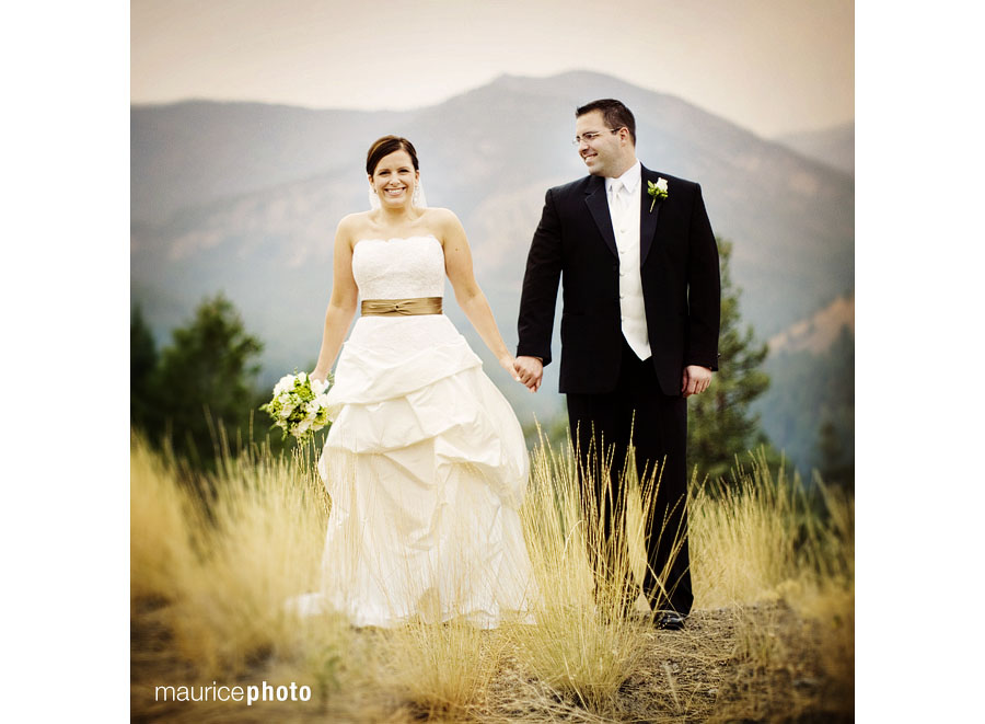 Wedding Photography at the Sun Mountain Lodge in Winthrop