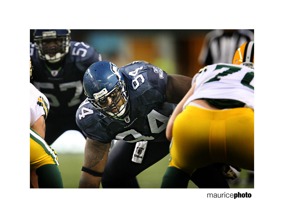 Seahawks DT Kevin Vickerson