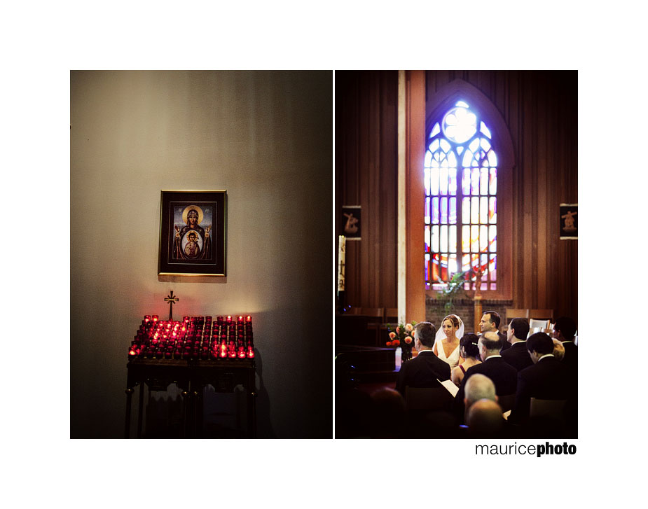 Wedding Ceremony at the Saint Brendan Catholic Church in Bothell