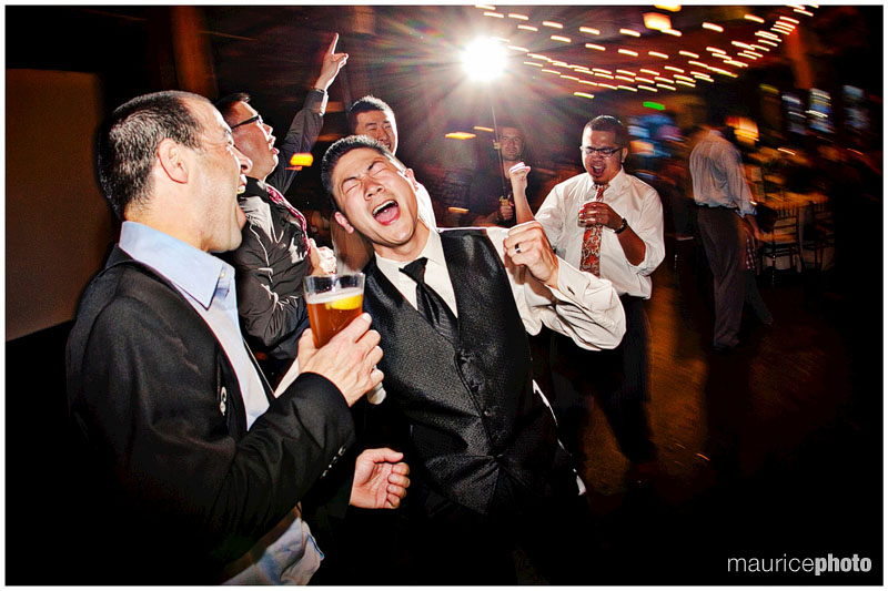 Dancing pictures at a wedding