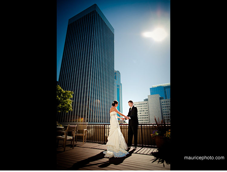 Wedding pictures at the WAC Seattle