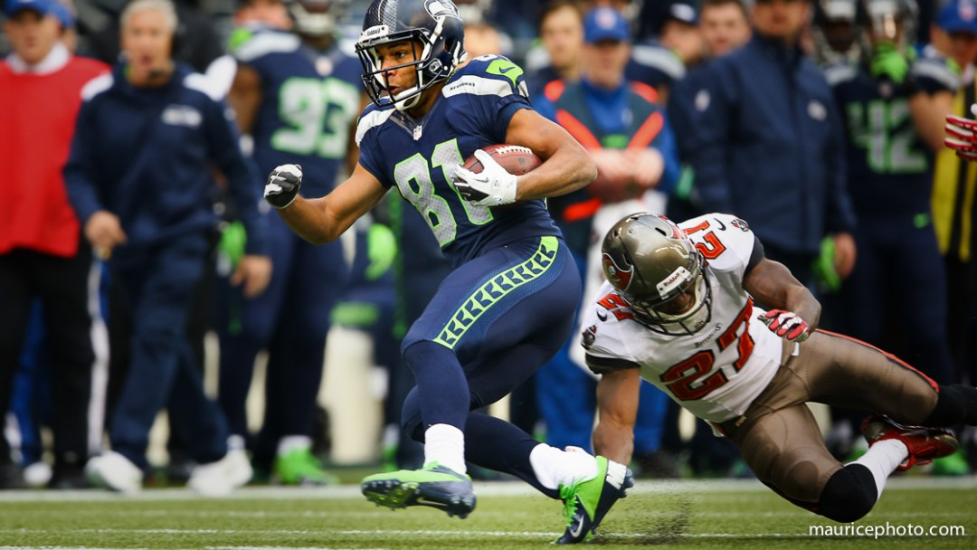 Seattle Seahawks vs Tampa Bay Buccaneers; Golden Tate