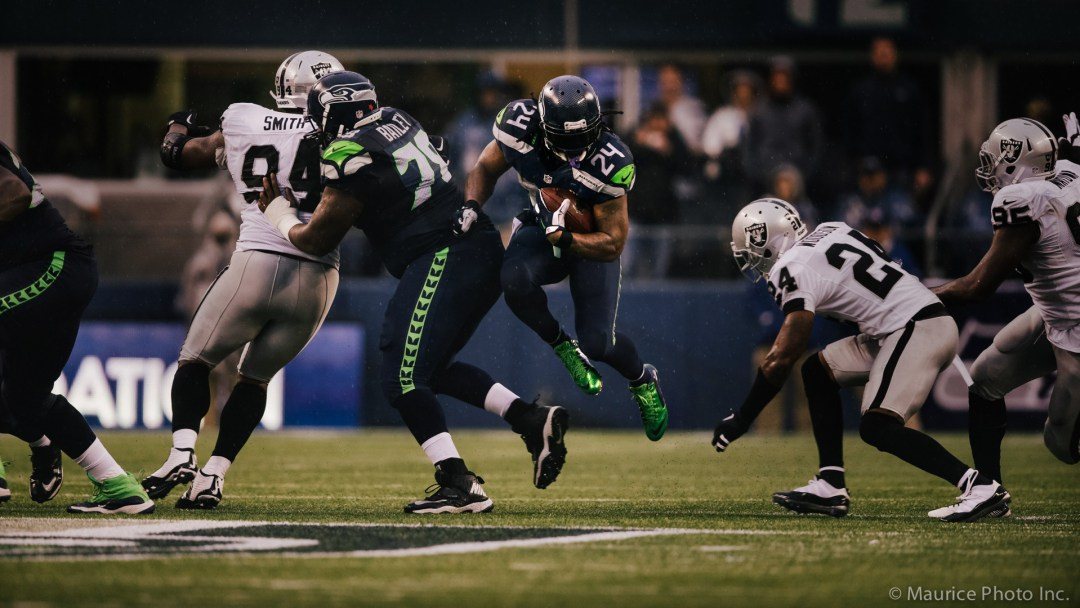 Marshawn Lynch shreds the raiders