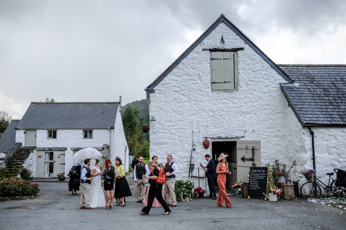 Hafod Farm Wedding - The stunning Hafod Farm.