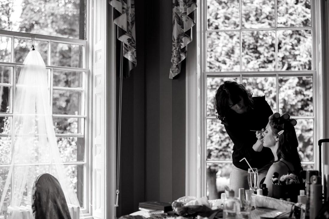 Statham Lodge Wedding - Bridal preparations