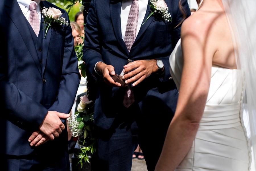 Statham Lodge Wedding - The wedding rings