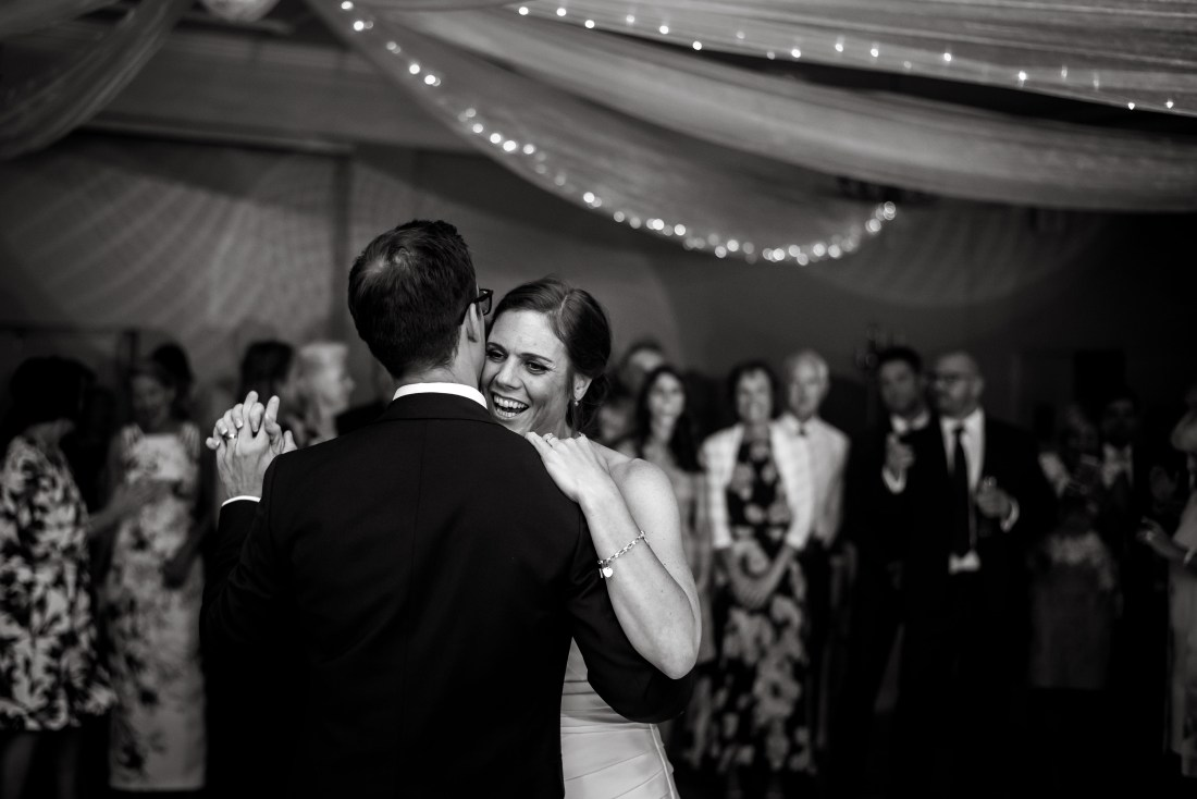Statham Lodge Wedding - Liz and Steve first dance
