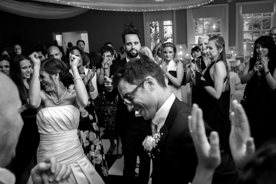 Statham Lodge Wedding - Evening wedding party