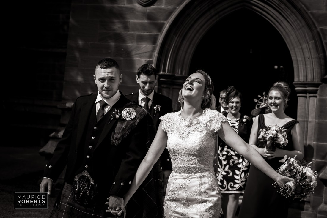 Cheshire Wedding Photographer ~ St Mary's Church Chester