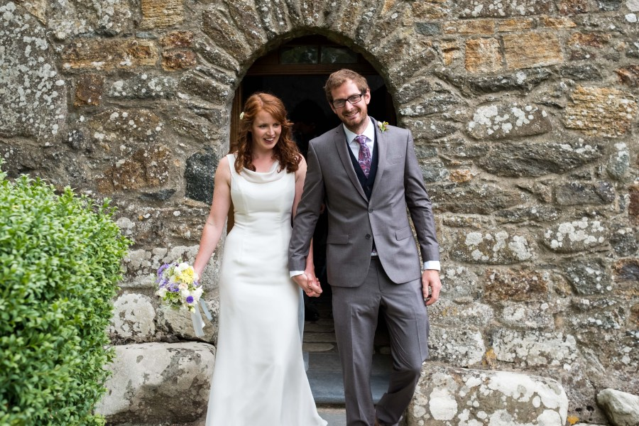 Rob and Jess just married at Penarth Fawr.