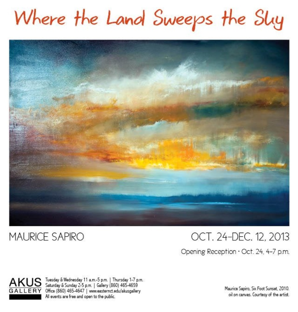 Invitation Solo Painting Exhibtion Akus In Willimantic Ct 10 24 13 12