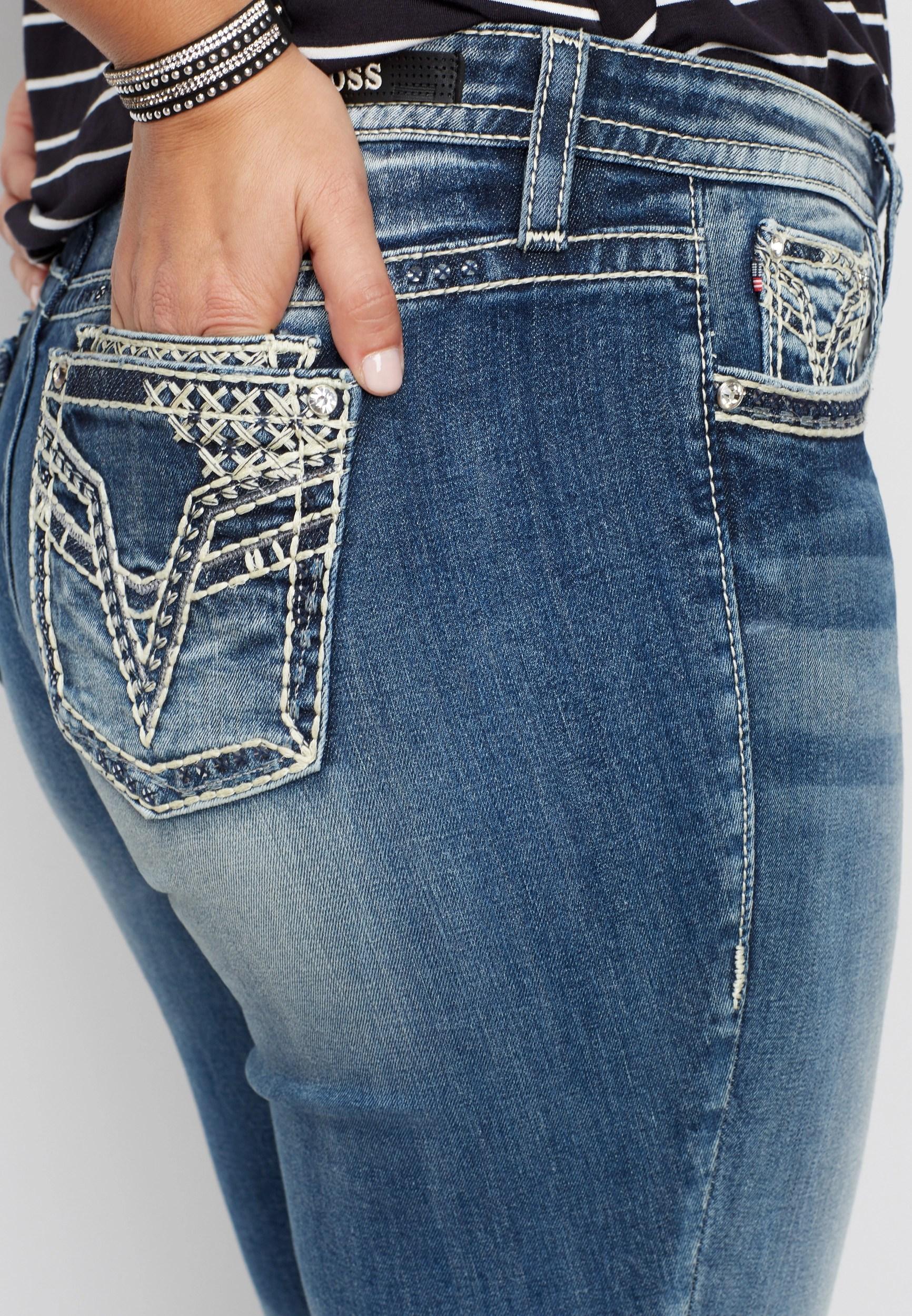 Plus size vigoss double roll skinny boyfriend jean also jeans maurices rh