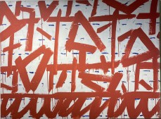 Untitled, 1991 Acryl on canvas 98 x 130 cm