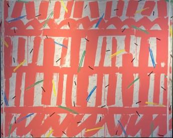 Untitled, 1991 Acryl on canvas 130 x 160 cm