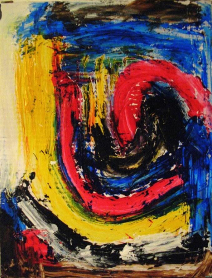 Fightin' Stress -- Paint Through It!