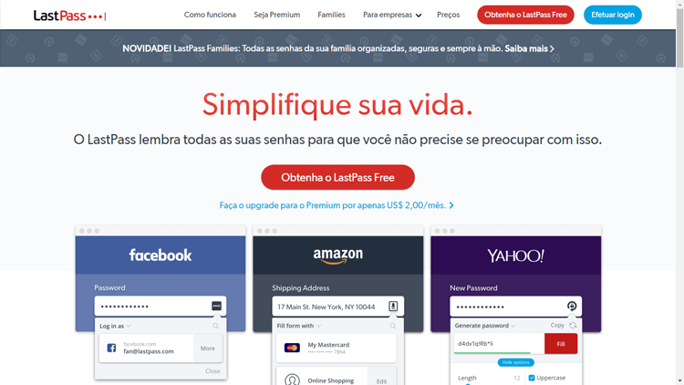 Extensão Google Chrome Hootlet Last Pass