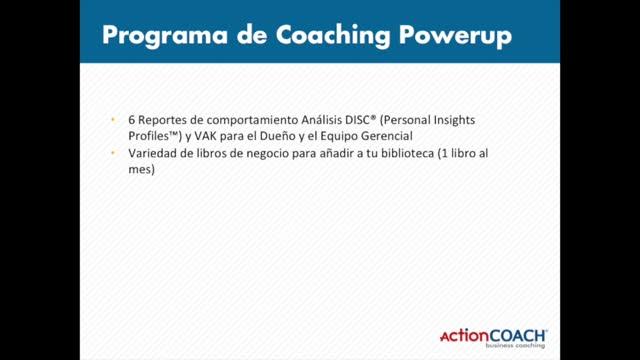 Power Up Program