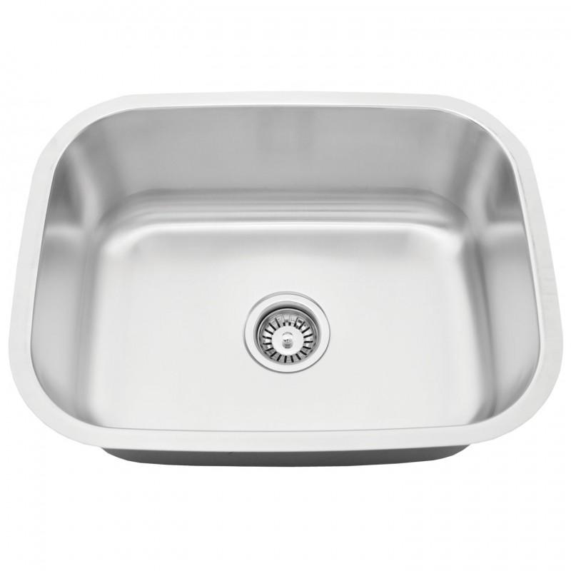 stainless steel undermount laundry sink