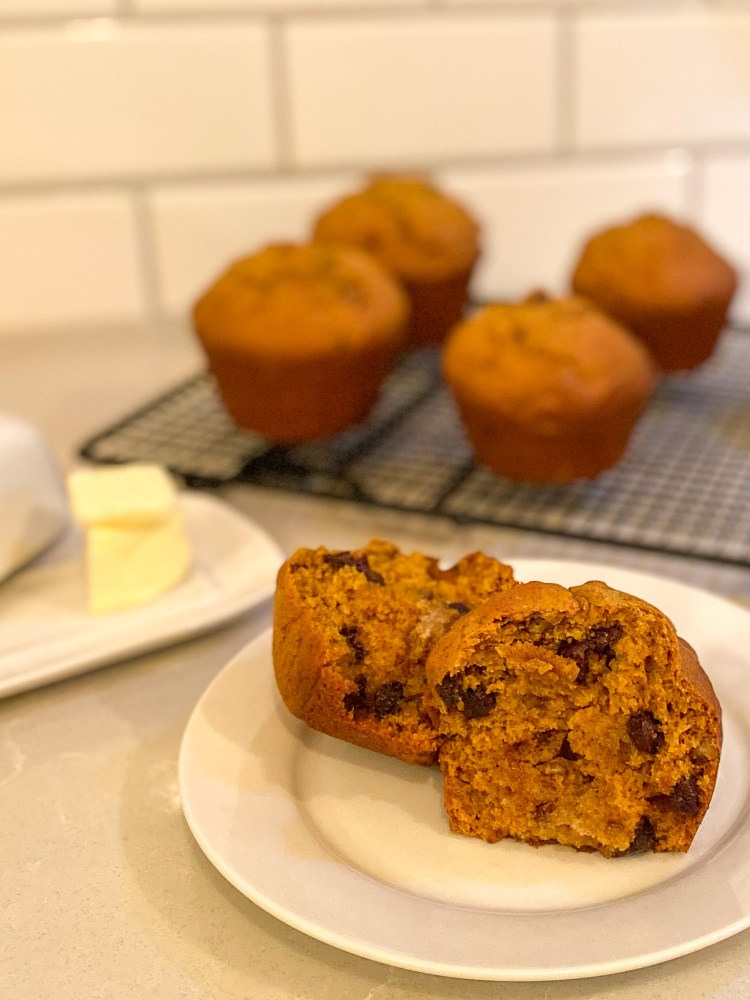 Chocolate Chip Pumpkin Muffin Recipe