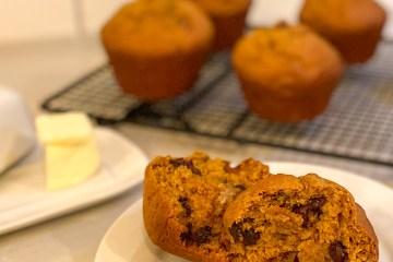Chocolate Chip Pumpkin Muffin Recipe