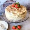Chocolate Strawberry Rum Cake Recipe