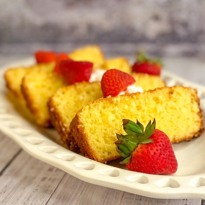 Butter Pound Cake Mini Recipe