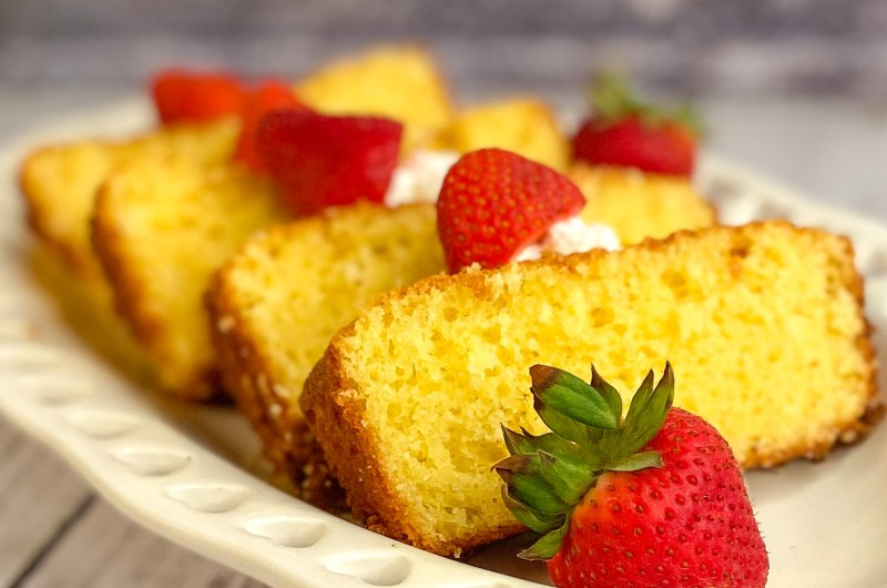 Butter Pound Cake Mini