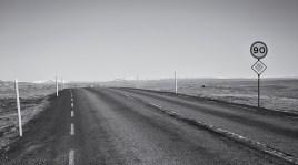 op weg