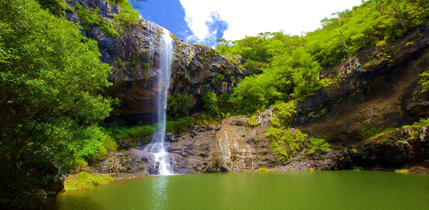 Serene Wallpapers Large Fall Waterfalls In Mauritius Guide To The Most Spectacular