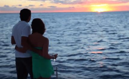 Sunset Catamaran Cruise off Grand Baie
