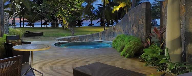 Trou aux Biche beachfront suite with pool