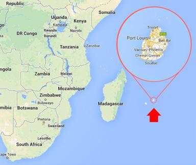 Geography of Mauritius Island
