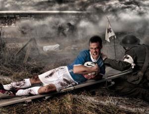 Voetbal is oorlog